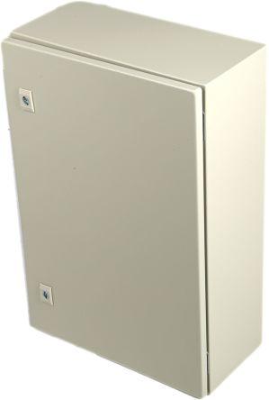 RS PRO Steel Wall Box, IP66, 200mm x 600 mm x 400 mm, Grey
