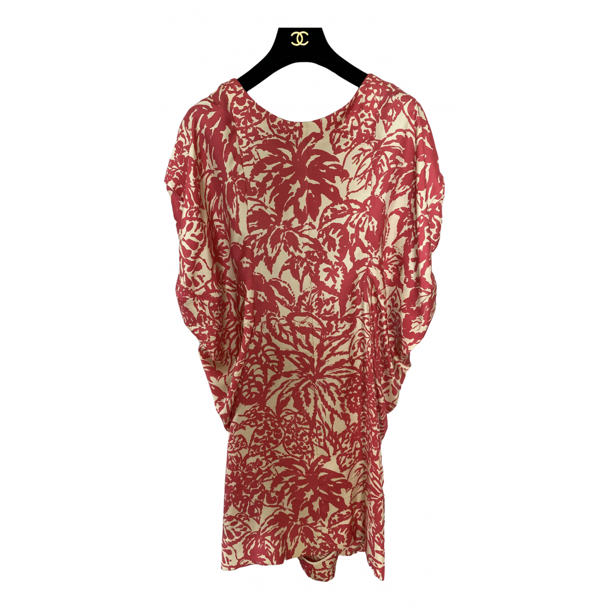 Balenciaga \N Multicolour Silk dress for Women 42 FR