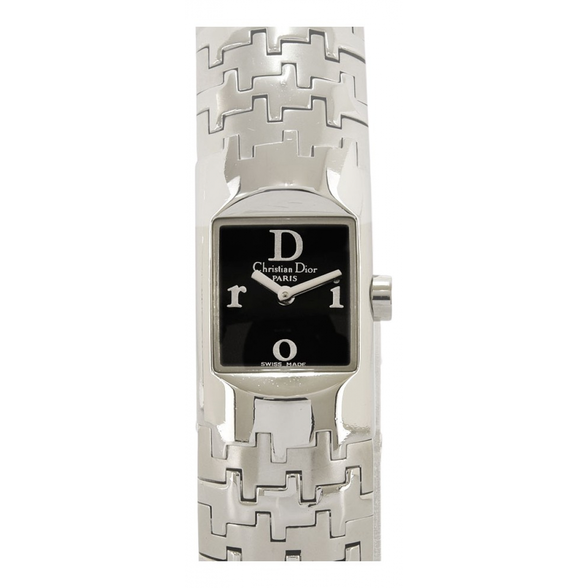 Dior N Black Steel watch for Women N