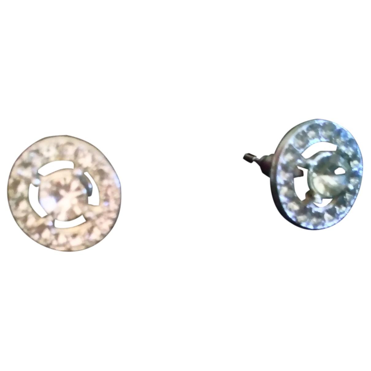 Underground - Boucles doreilles   pour femme en metal - argente