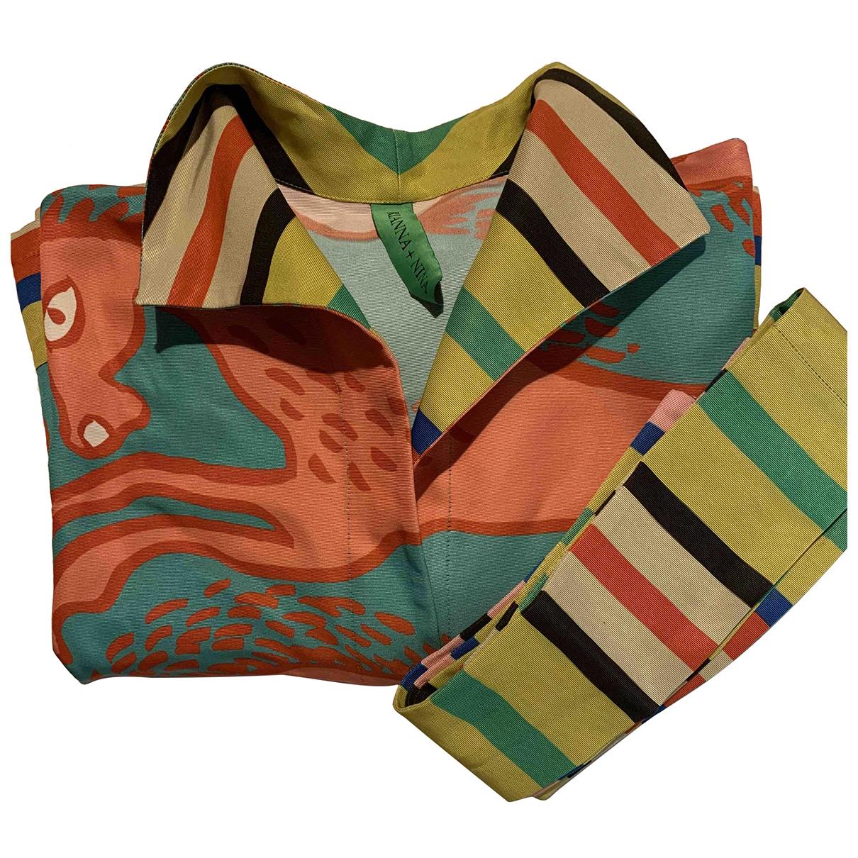 Rianna + Nina N Multicolour Silk  top for Women L International
