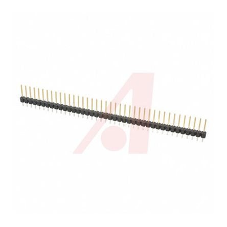 3M , 2300, 40 Way, 1 Row, Straight Pin Header