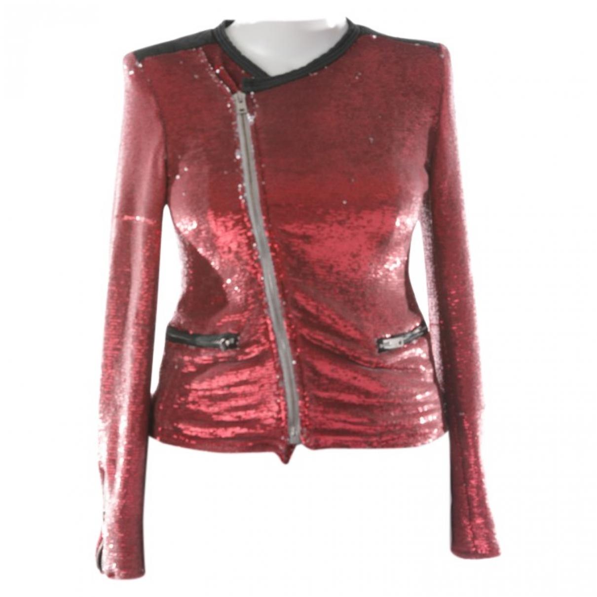 Iro \N Jacke in  Rot Polyester
