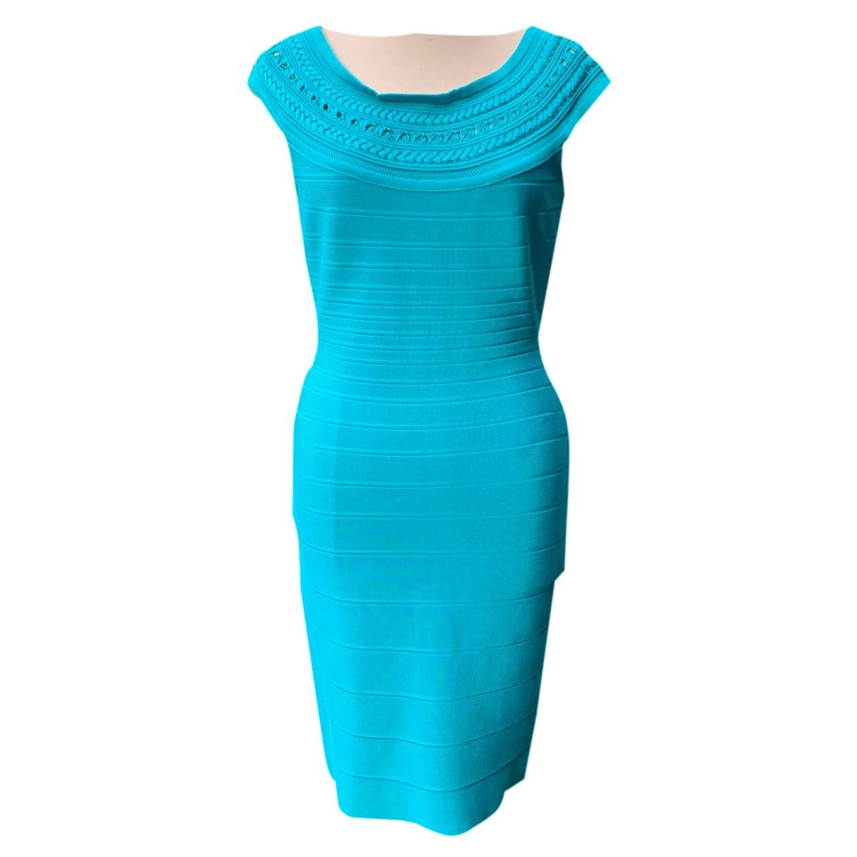 Herve Leger N Turquoise dress for Women L International