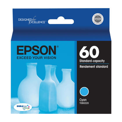 Epson T060220 Original Cyan Ink Cartridge