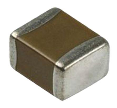 Murata , 0805 (2012M) 100μF Multilayer Ceramic Capacitor MLCC 6.3V dc ±20% , SMD GRM21BR60J107ME15 (5)