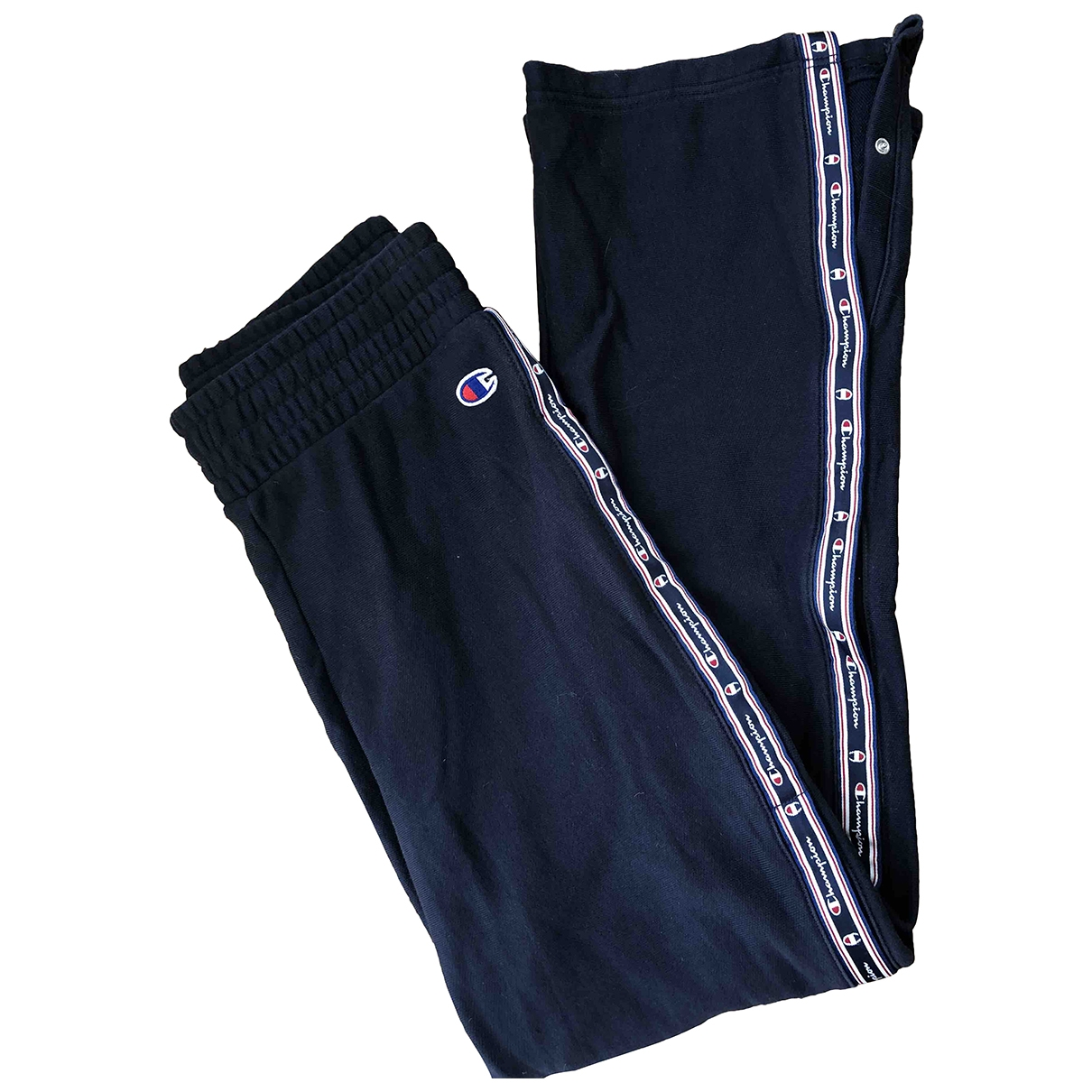 Champion \N Navy Cotton Trousers for Women XS International