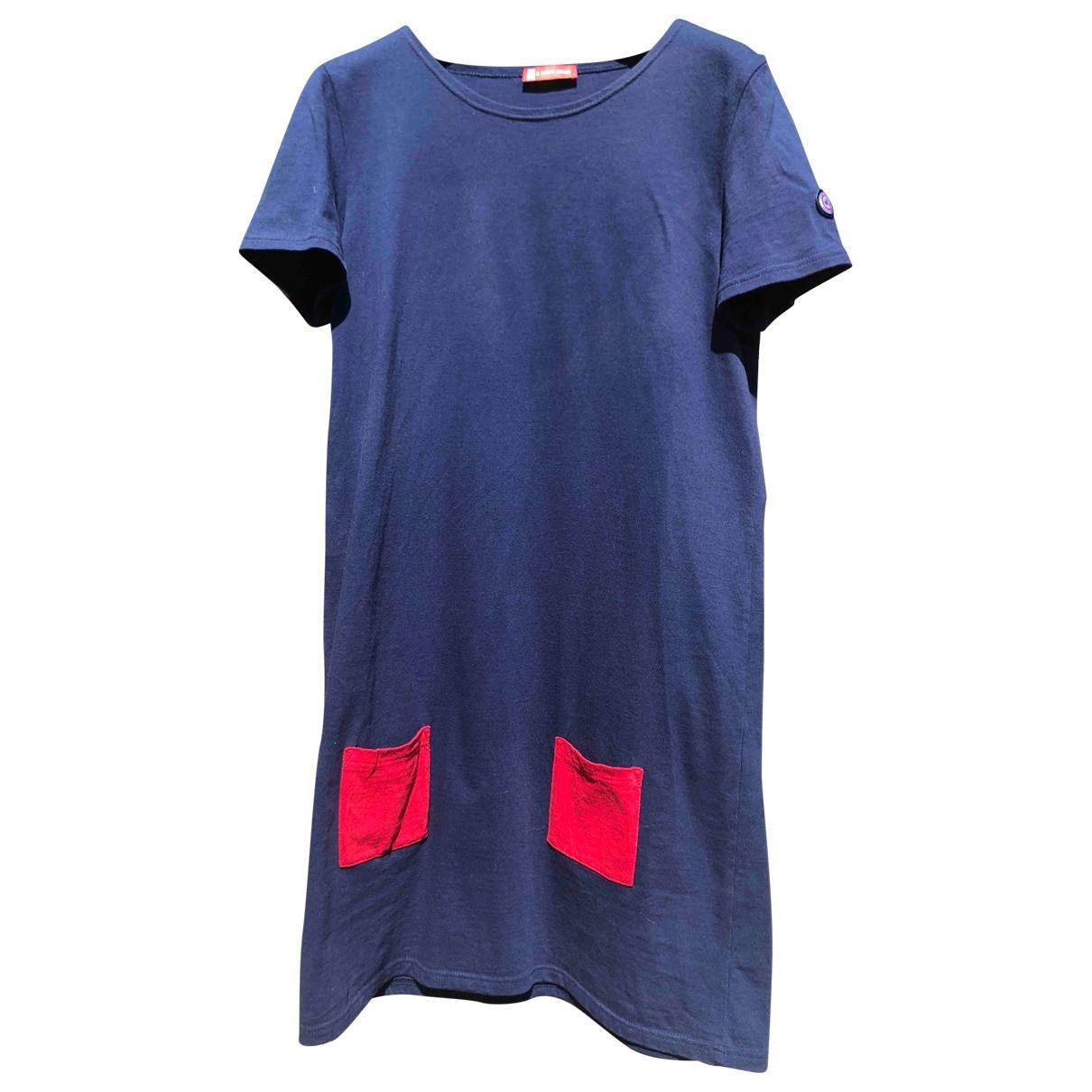 Le Slip Francais \N Kleid in  Blau Baumwolle