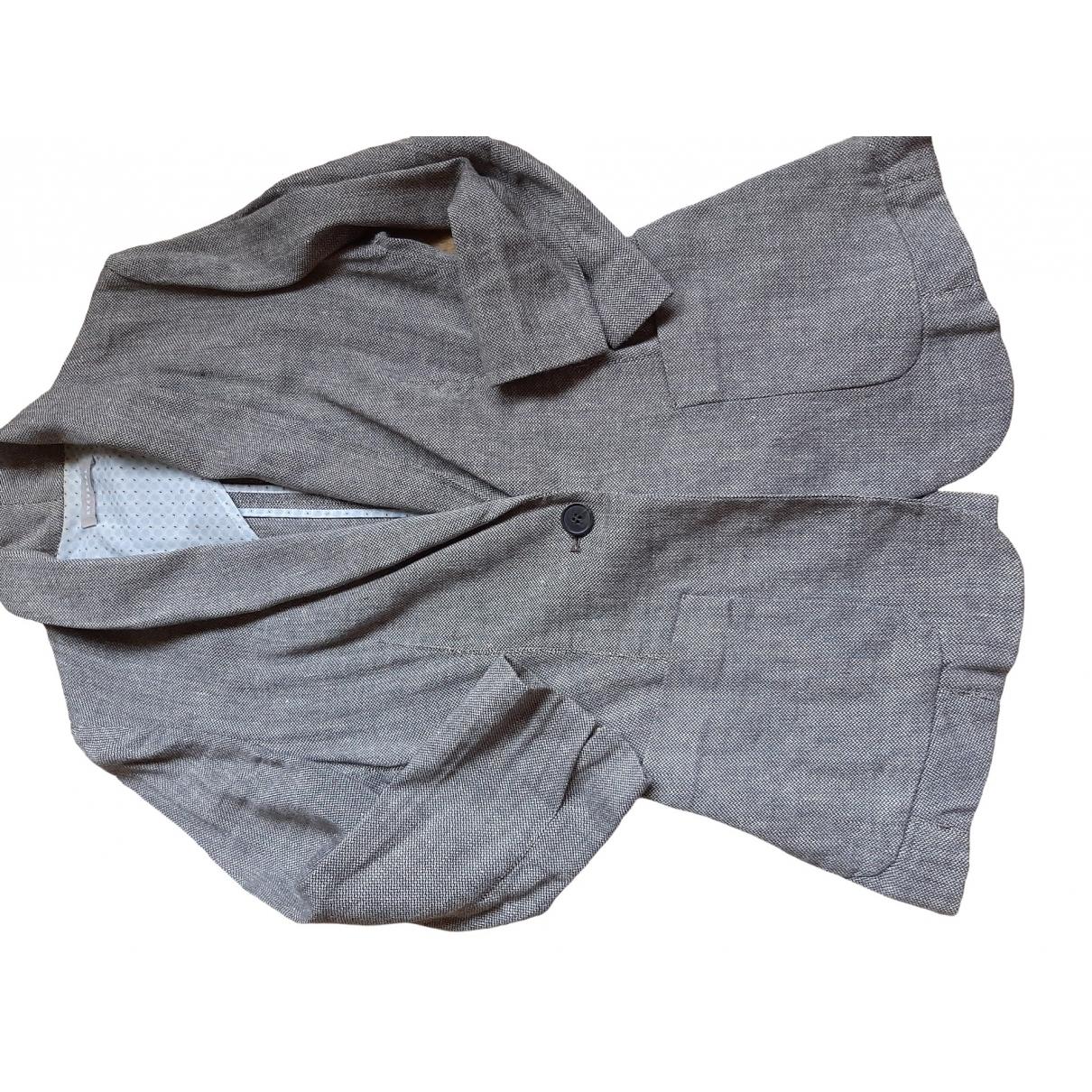 Non Signé / Unsigned \N Multicolour Linen jacket for Women 36 FR