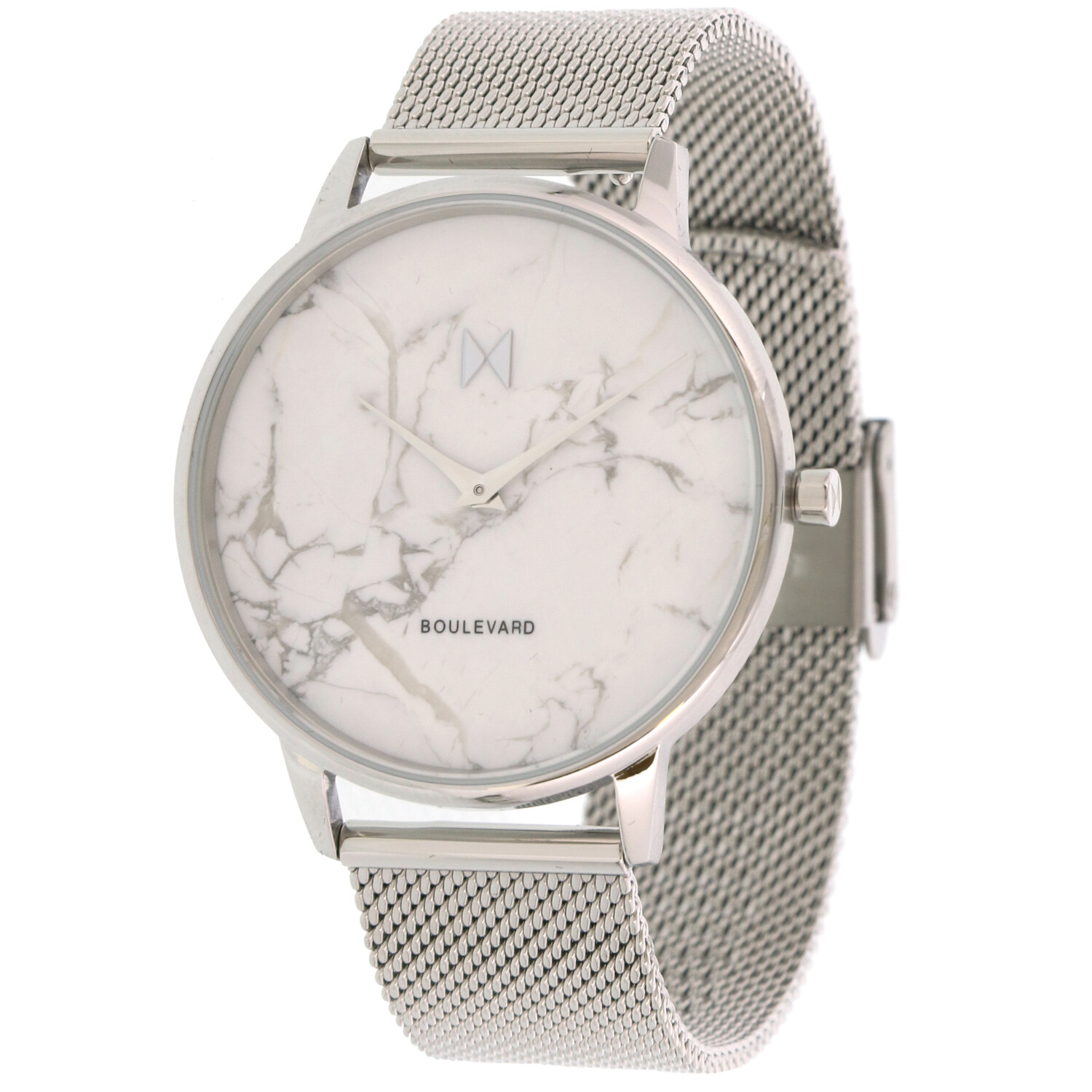 Mvmt Women's Venice Marble MB01-SMA Silver Stainless-Steel Japanese Quartz Fashion Watch