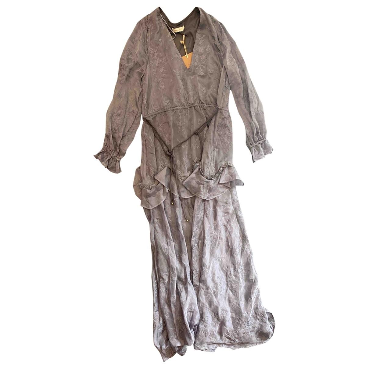 Stevie May \N Kleid in  Grau Polyester