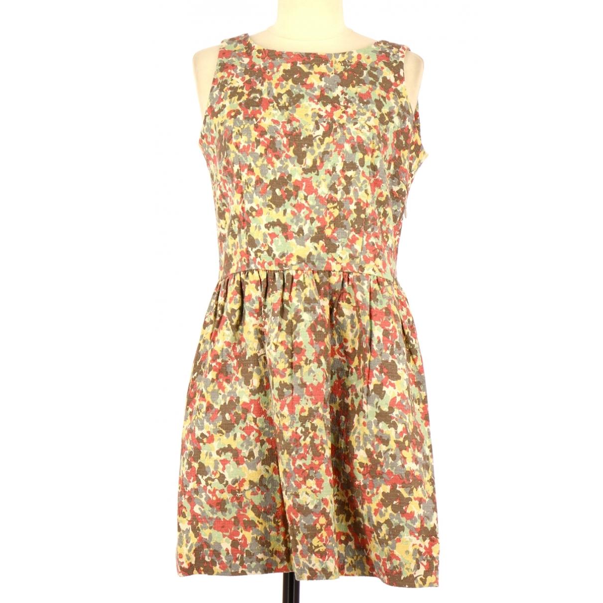 Non Signé / Unsigned \N Multicolour Cotton dress for Women 40 FR