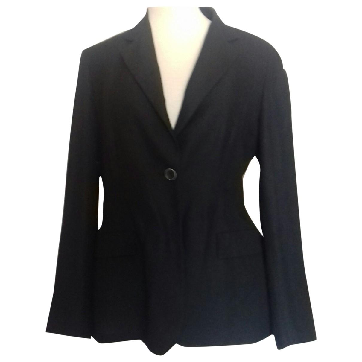 Marella - Veste   pour femme en lin - noir