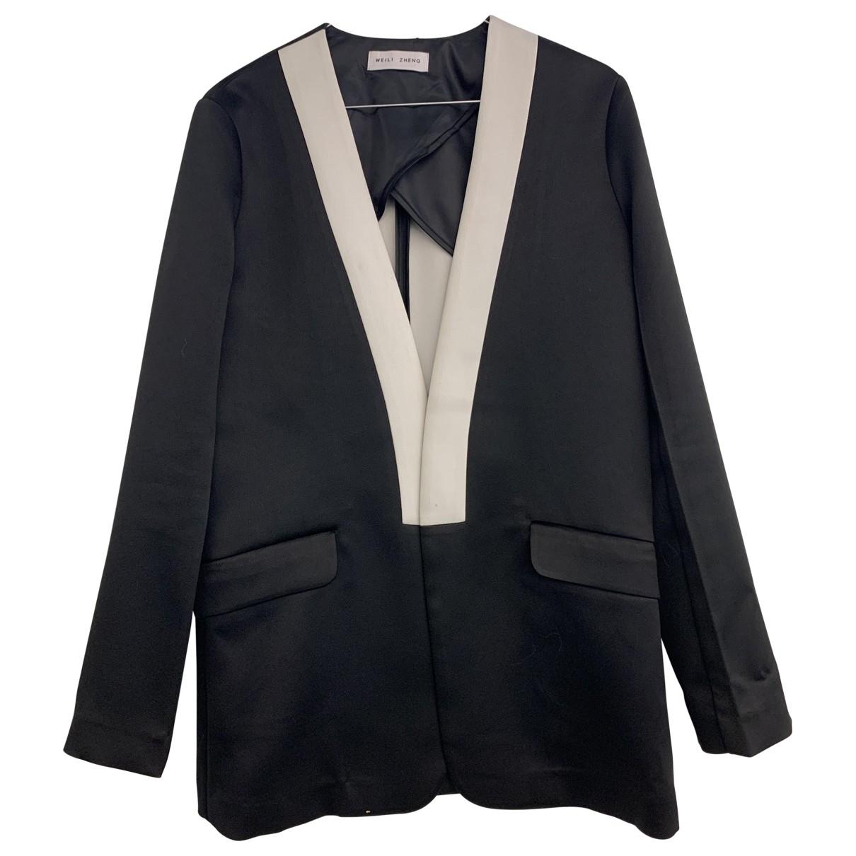 Weili Zheng \N Jacke in  Schwarz Polyester