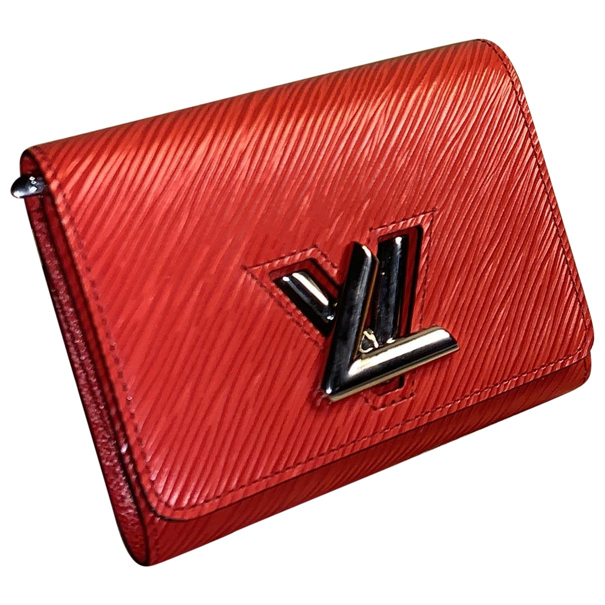 Louis Vuitton Twist Red Leather wallet for Women \N
