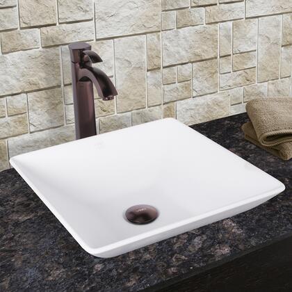 VGT1020 VIGO Matira Composite Vessel Sink and Otis Bathroom Vessel Faucet in Oil Rubbed