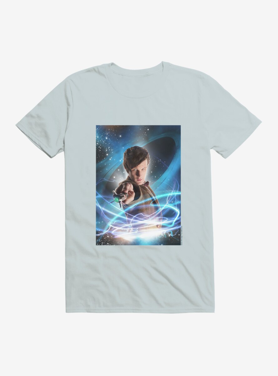 Doctor Who The Eleventh Doctor And Sonic Screwdriver T-Shirt
