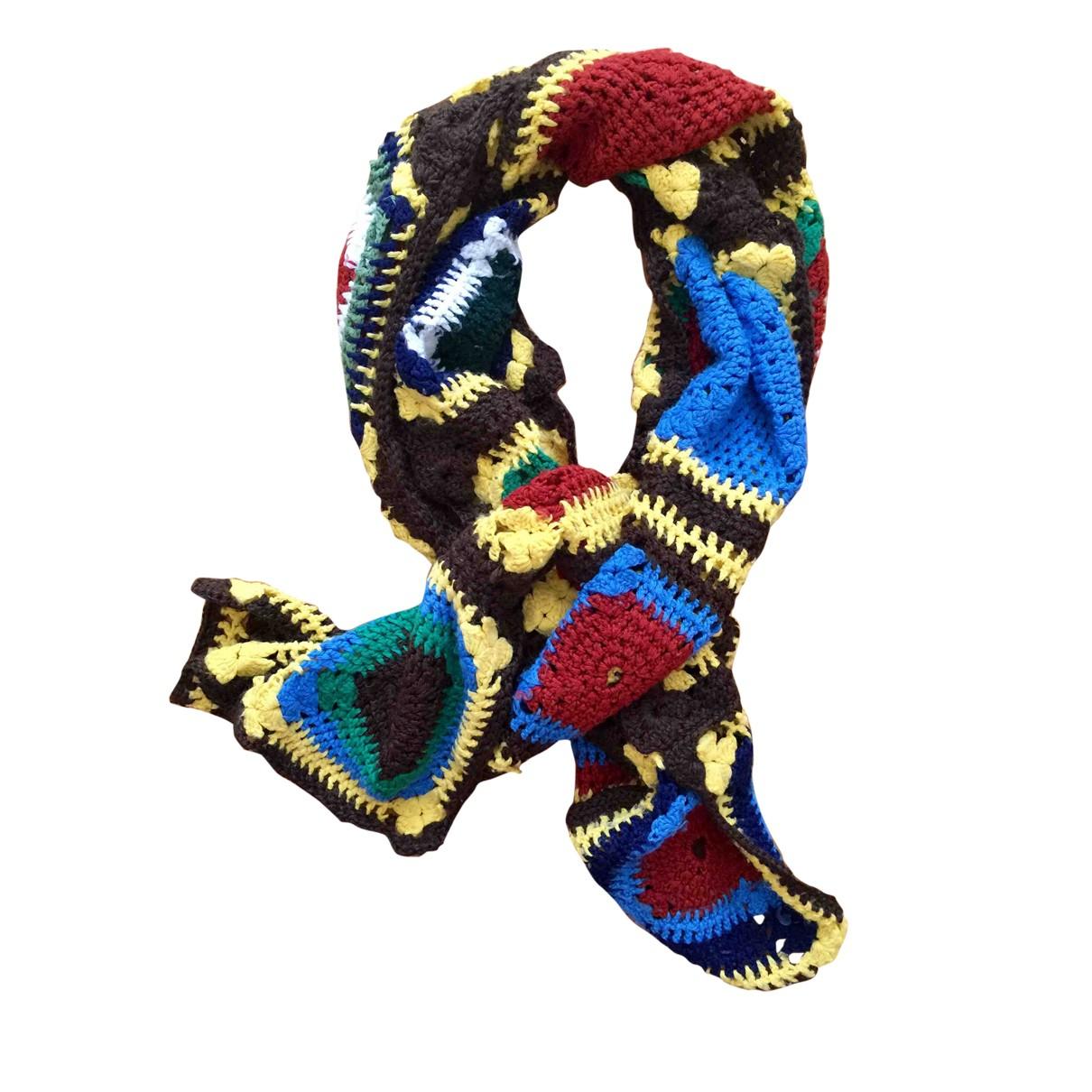 - Cheches.Echarpes   pour homme en laine - multicolore