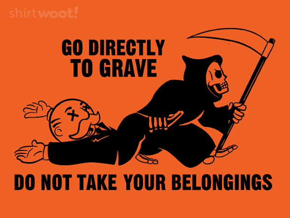 Certain Death T Shirt