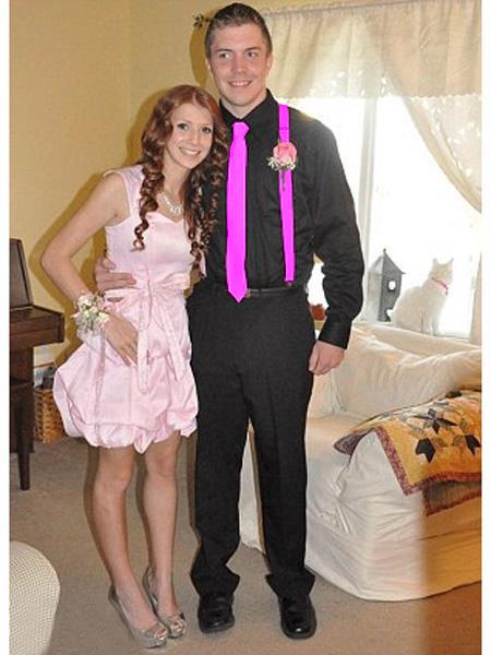 High7School Homecoming Outfits For Guys Casual Package Magenta