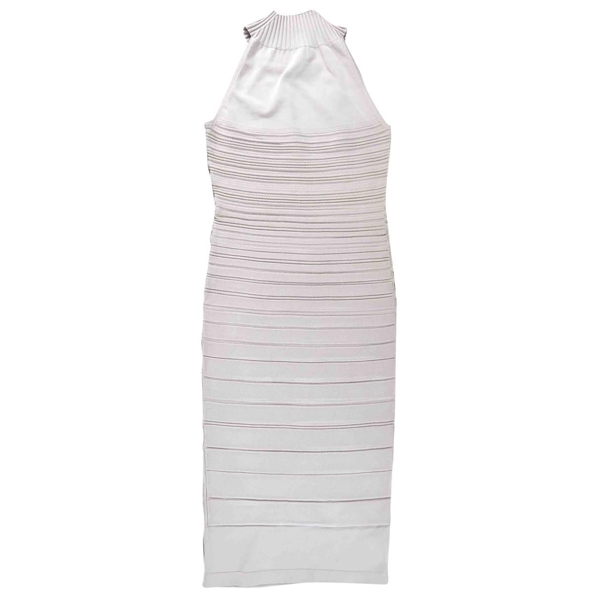 Cushnie Et Ochs \N Kleid in  Beige Viskose