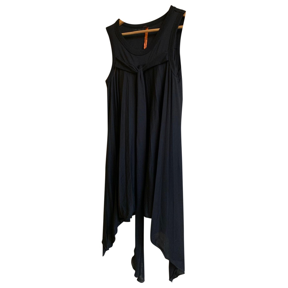 Non Signé / Unsigned N Black  top for Women 2 0-5