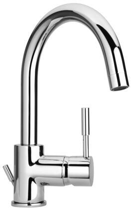 16250-40 Single Lever Handle Lavatory Faucet With Goose Neck Spout  Designer Flash Black