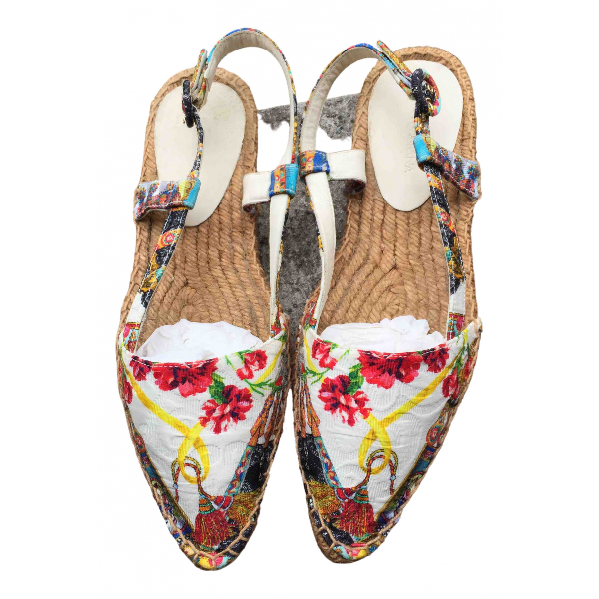 Dolce & Gabbana \N Multicolour Cloth Espadrilles for Women 37 IT