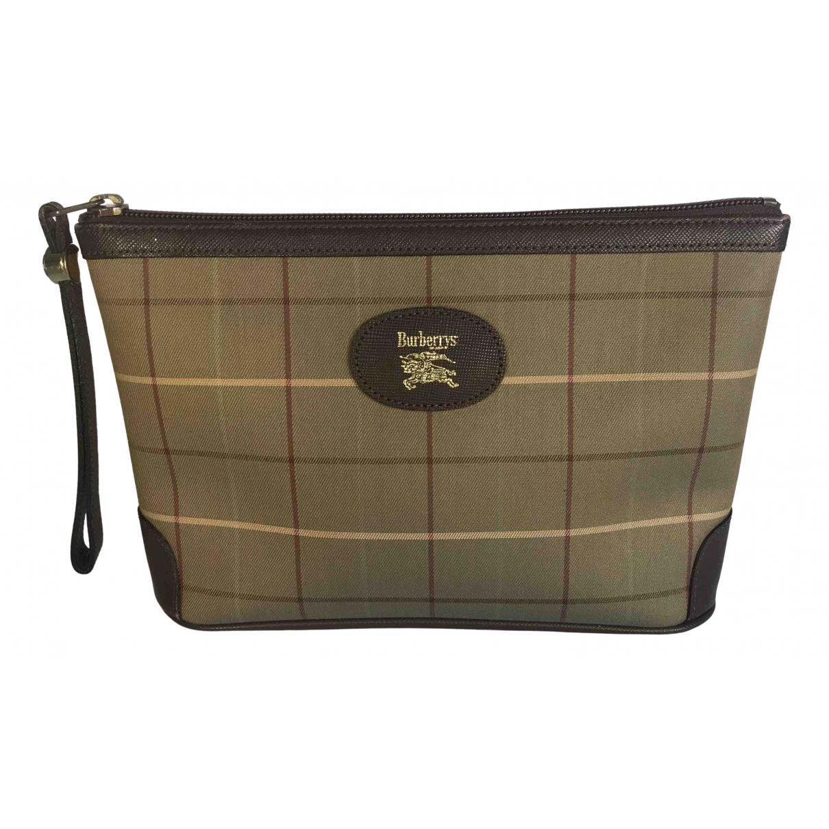 Burberry \N Brown Cloth Travel bag for Women \N