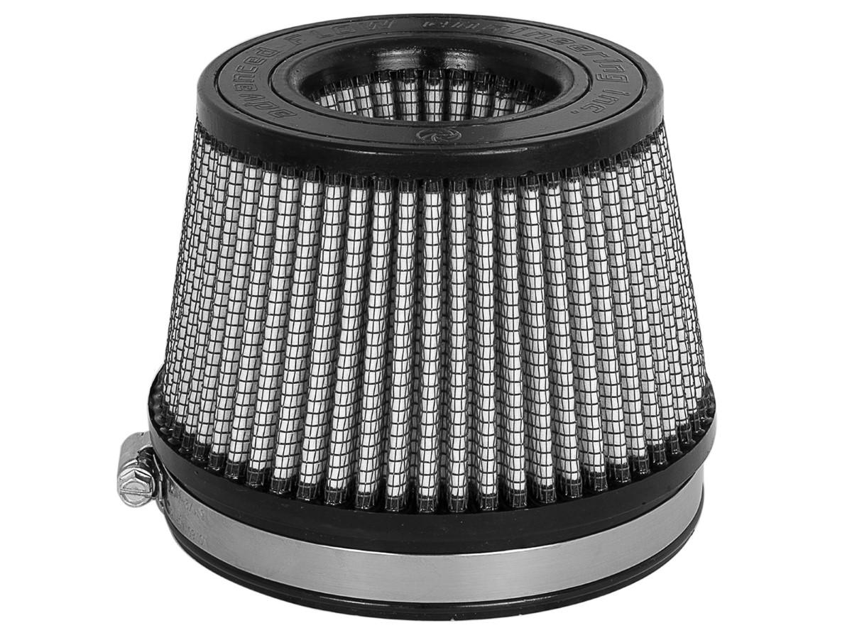 aFe Magnum FLOW Intake Replacement Air Filter w/ Pro DRY S Media 5 IN F x 5-3/4 IN B x 4-1/2 IN T (Inverted) x 3-1/2 IN H