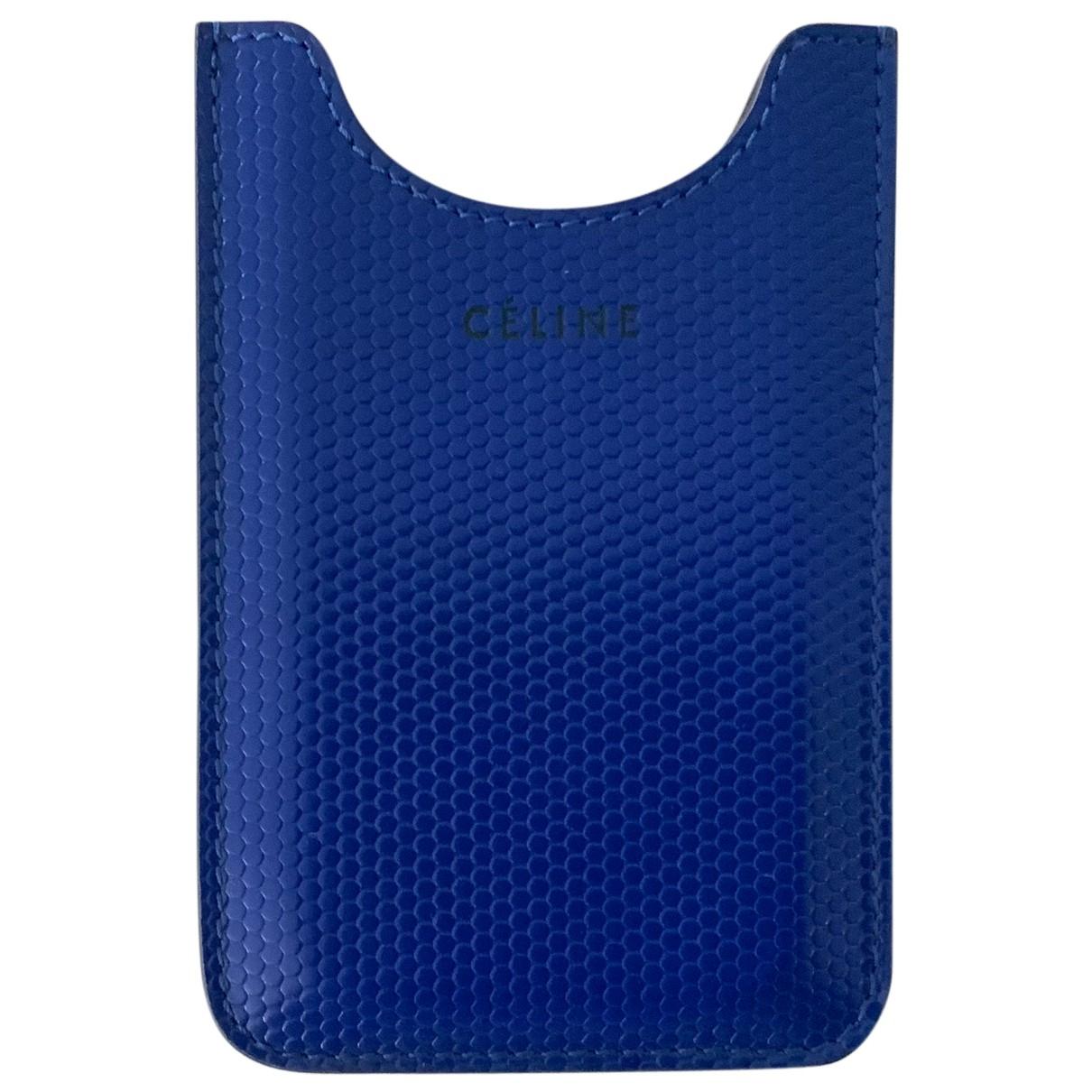 Celine - Objets & Deco   pour lifestyle en cuir - bleu