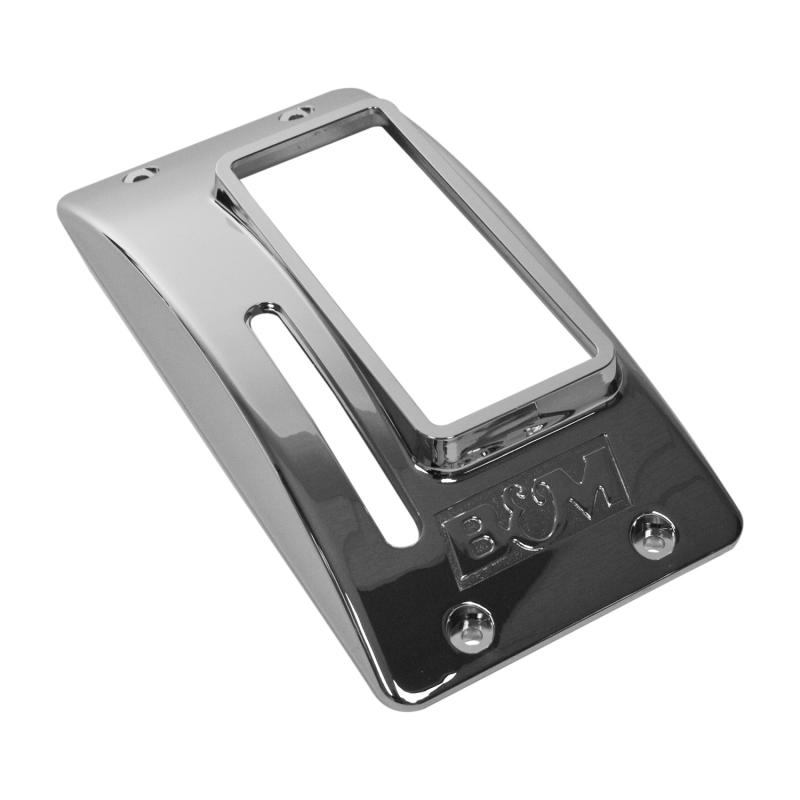 B&M Chrome Plastic Cover for QuickSilver Shifters 80683 and 80676