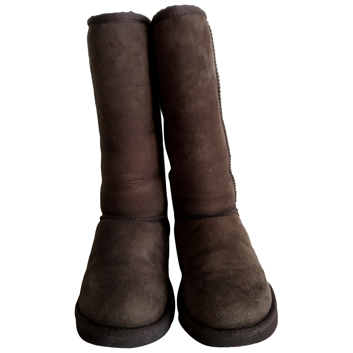 Ugg \N Brown Suede Boots for Women 36 EU