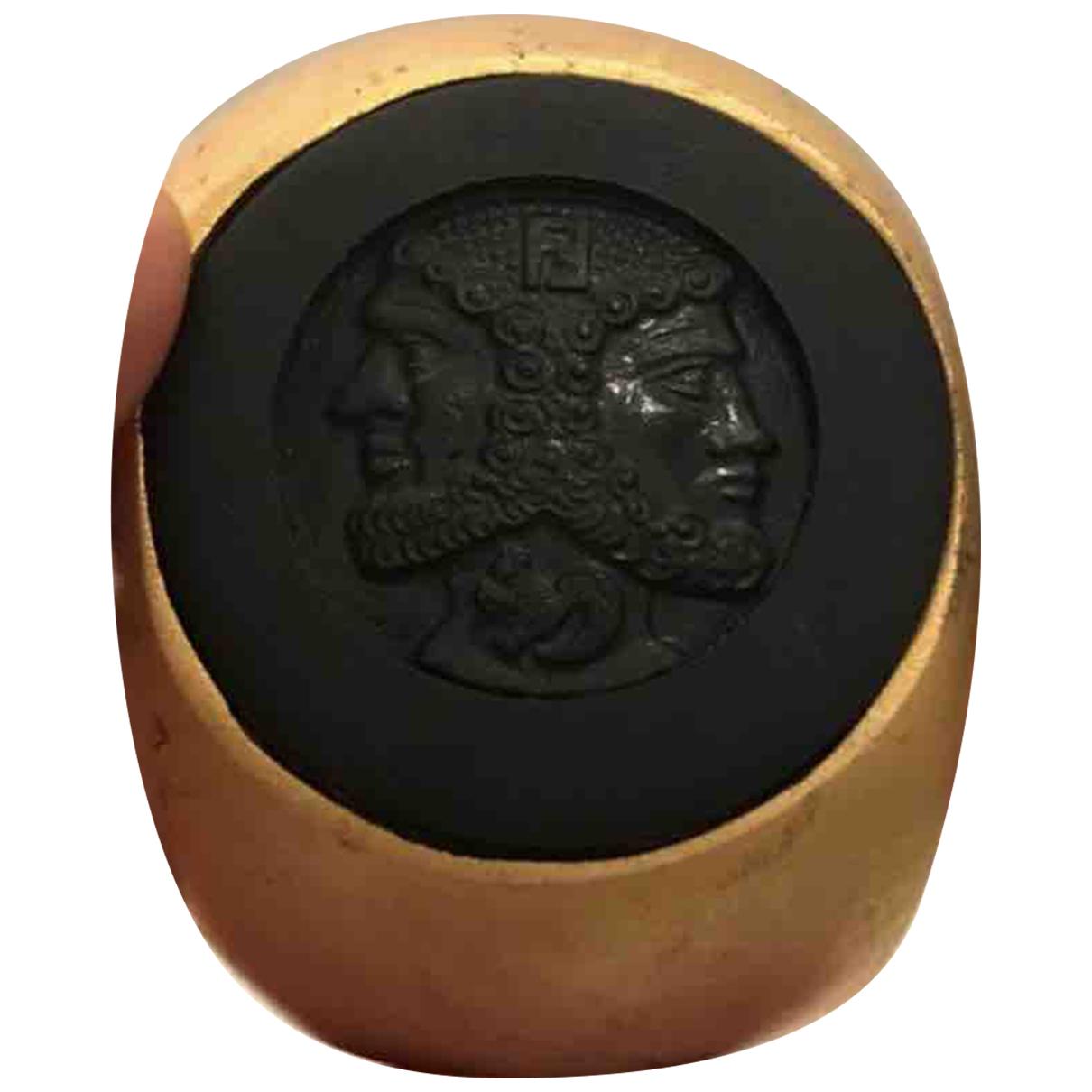 Fendi N Gold Metal bracelet for Women N
