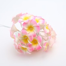 1pc String Light With 20pcs Flower Shaped Bulb