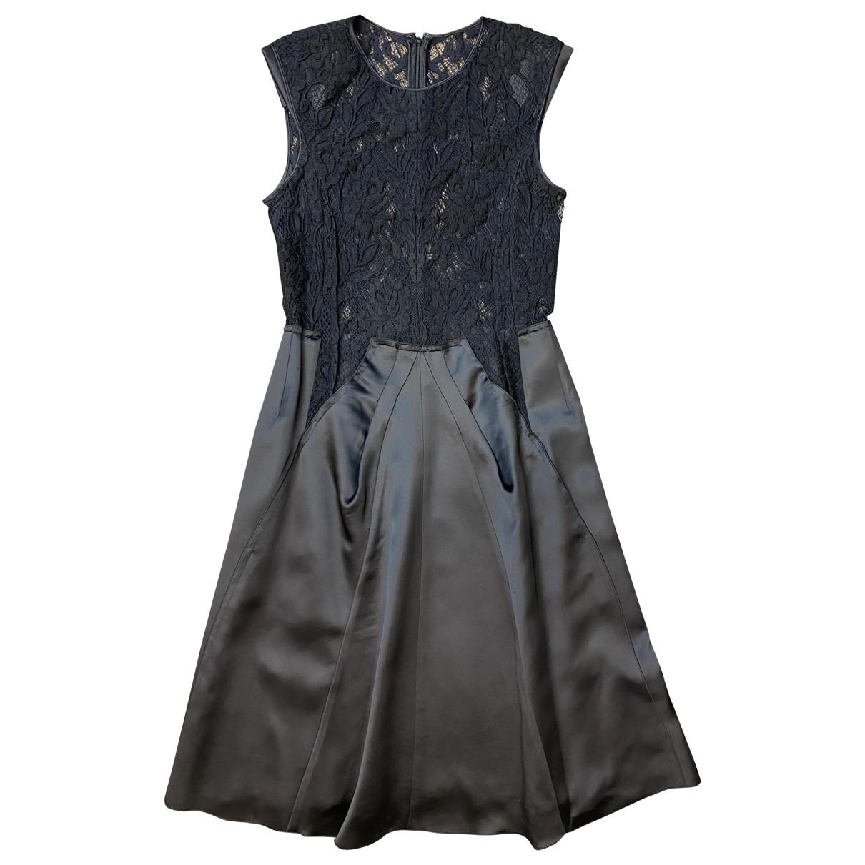 Nina Ricci \N Kleid in  Schwarz Viskose
