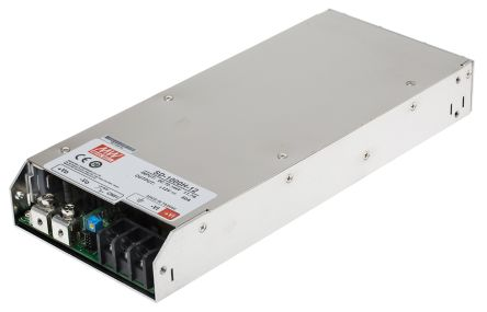 Mean Well 1000W Isolated DC-DC Converter Rack Mount, Voltage in 72 ? 144 V dc, Voltage out 12V dc