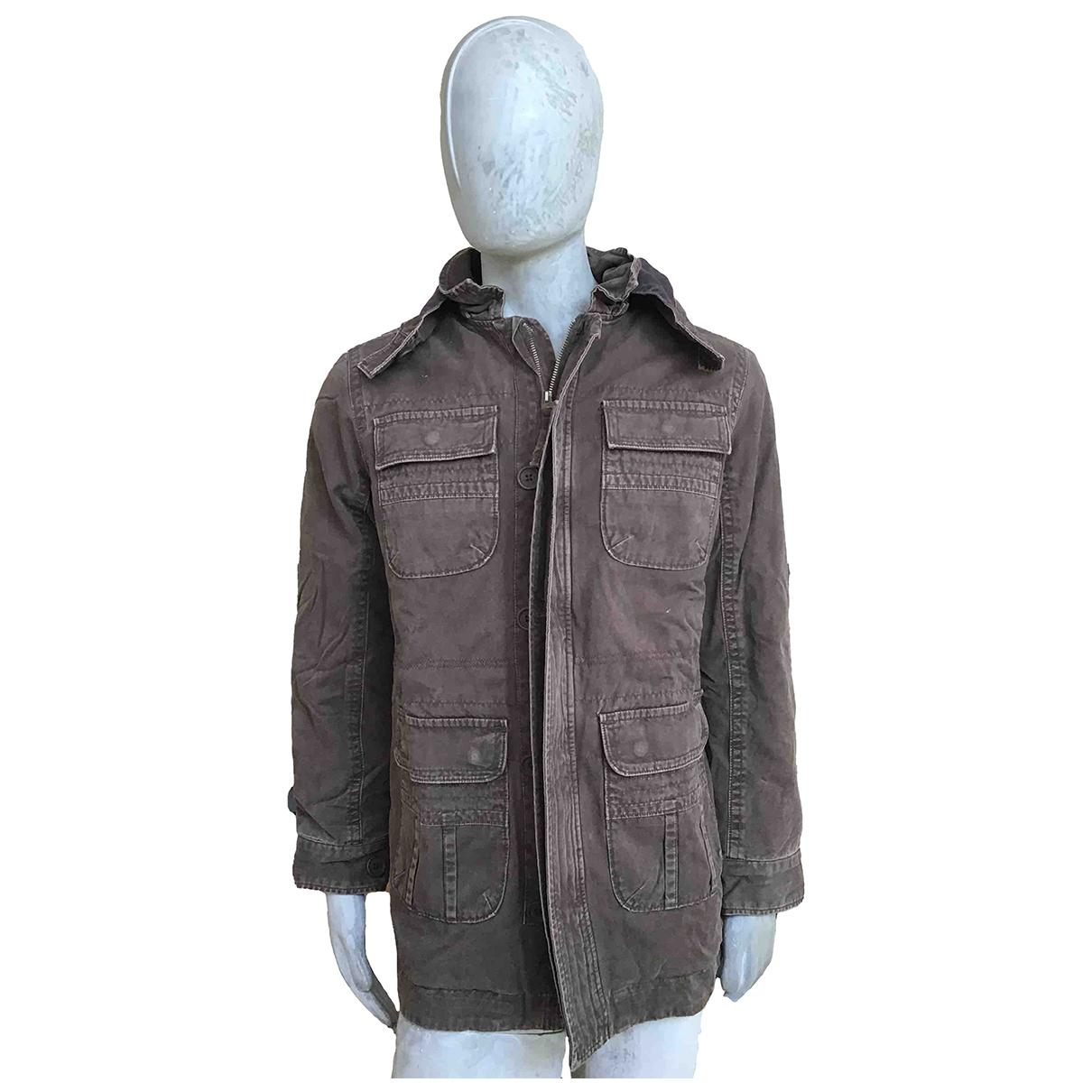 Abercrombie & Fitch - Vestes.Blousons   pour homme en coton - marron
