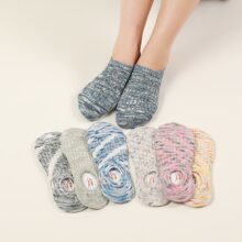 7 pares calcetines tobilleros simples