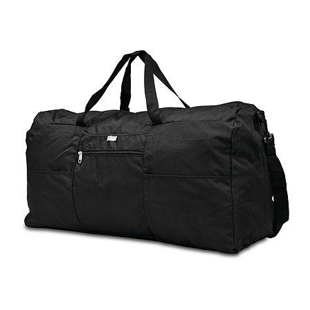 Samsonite Foldable Duffel Bag, One Size , Black