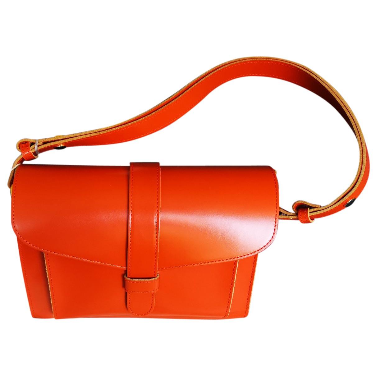 Marni N Orange Leather handbag for Women N