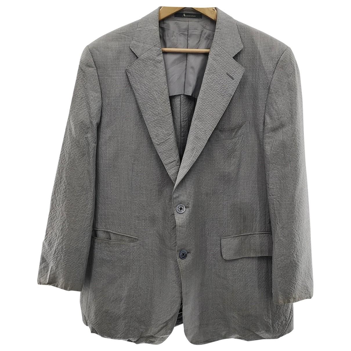 Aquascutum \N Grey coat  for Men L International