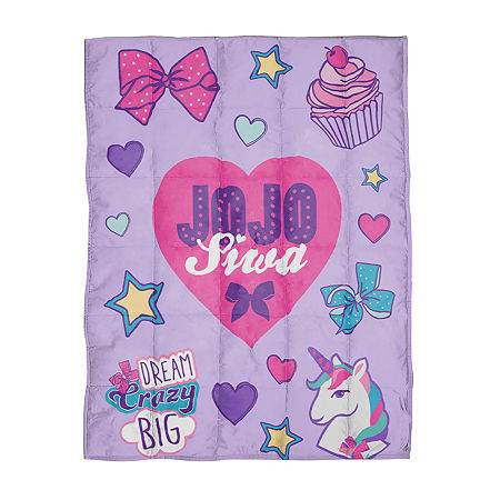 Jojo Siwa Weighted Blanket, One Size , Multiple Colors
