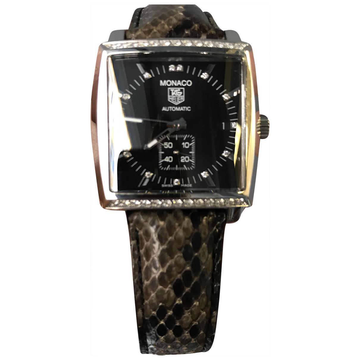 Tag Heuer Monaco Uhr in  Anthrazit Stahl