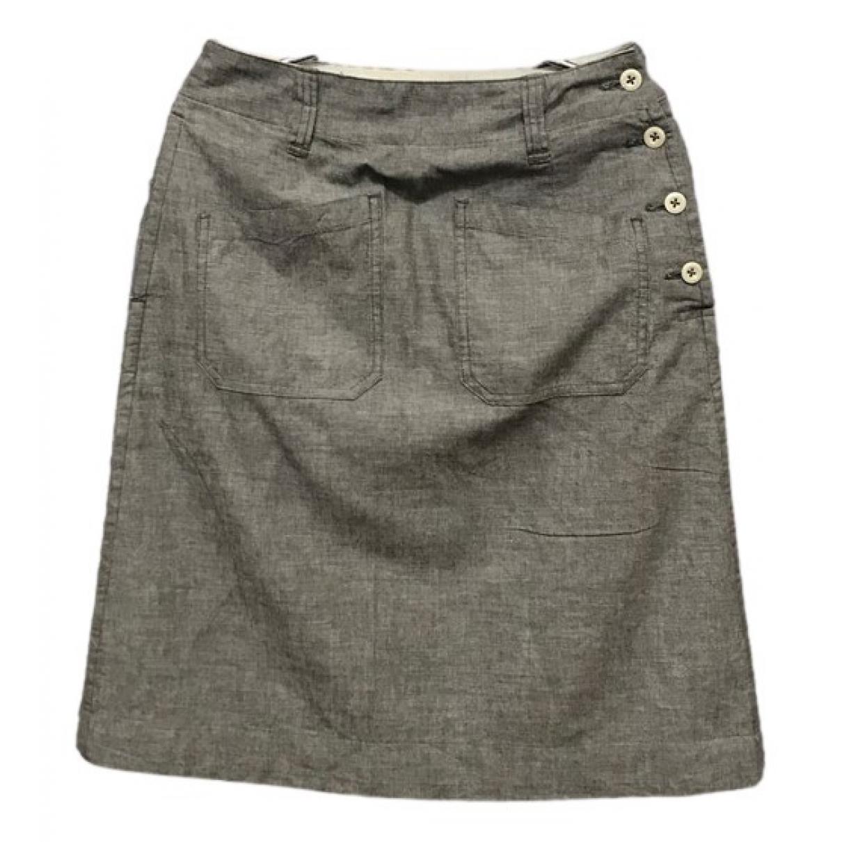 Margaret Howell - Jupe   pour femme en coton - gris