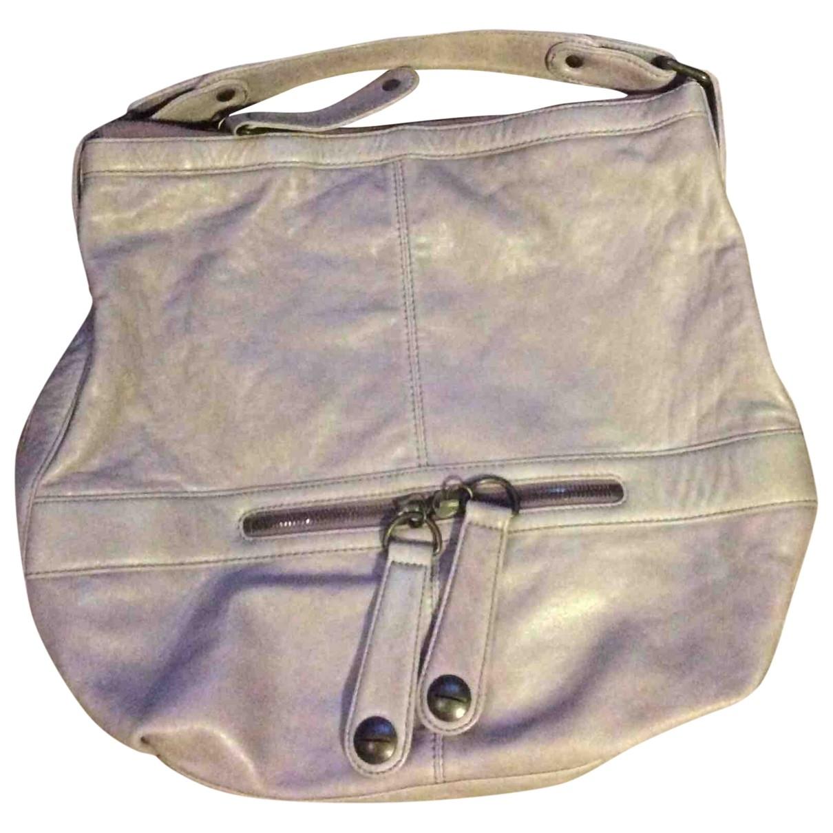 Gerard Darel \N Purple Leather handbag for Women \N