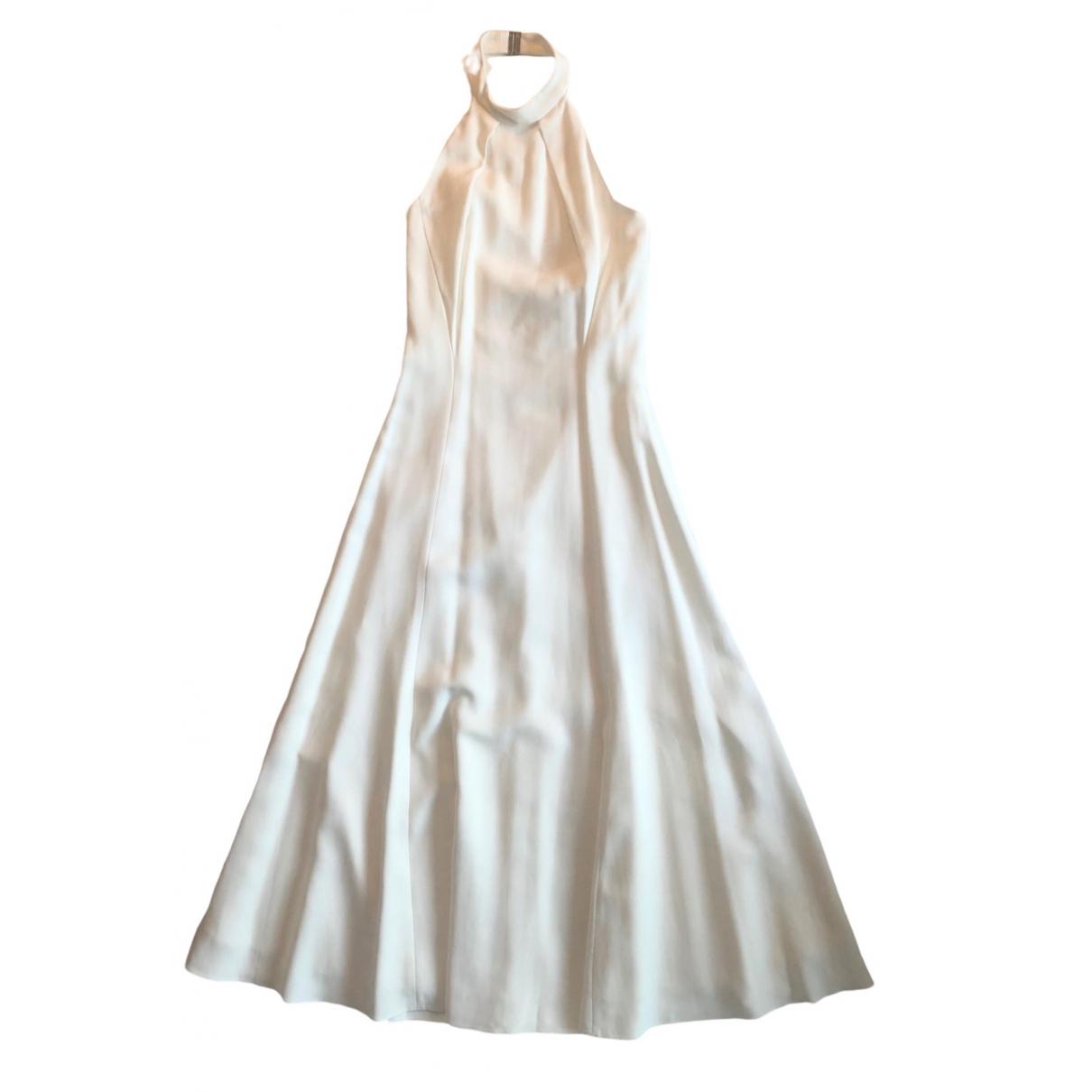 Karen Millen \N Kleid in  Weiss Polyester