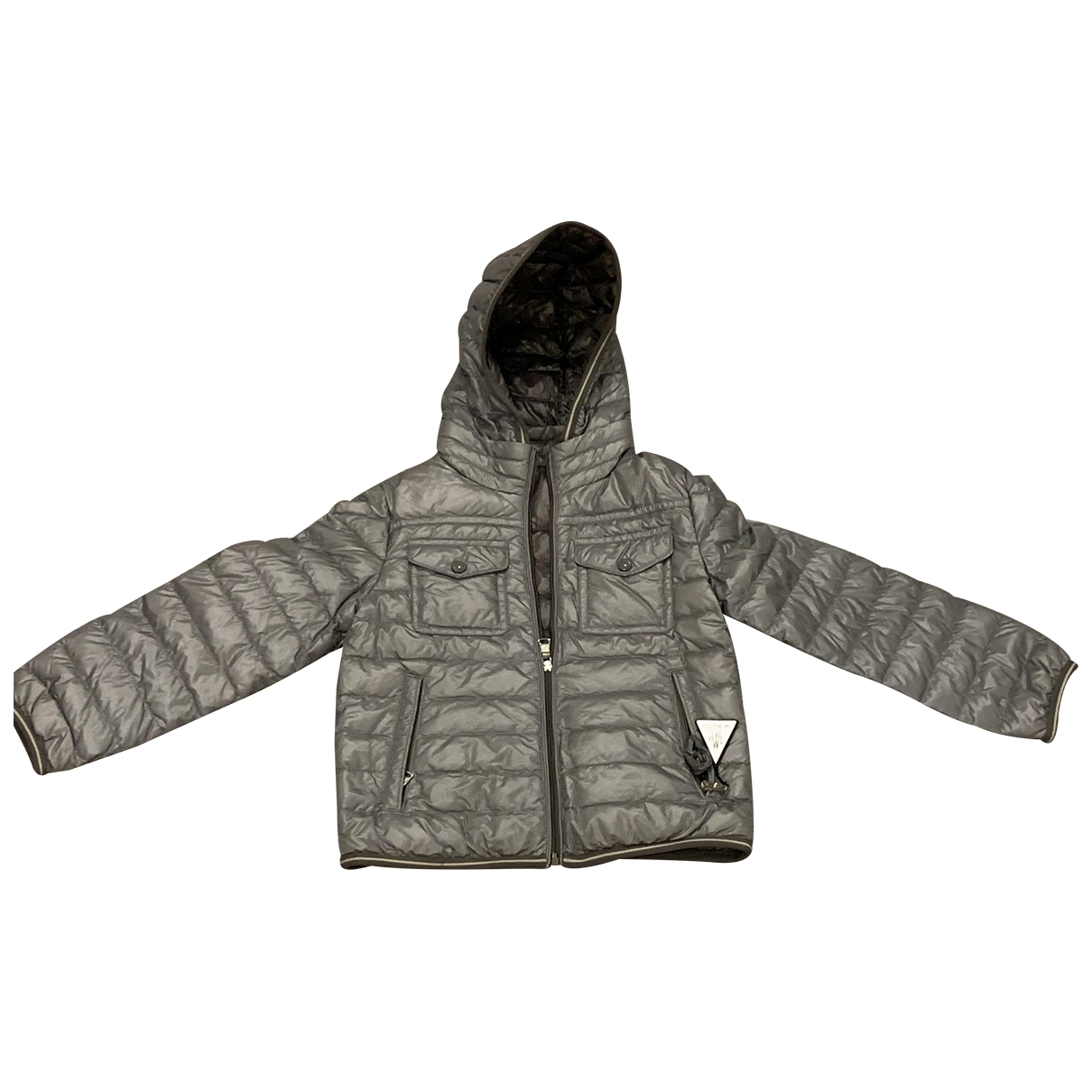 Moncler Hood Grey jacket & coat for Kids 4 years - up to 102cm FR