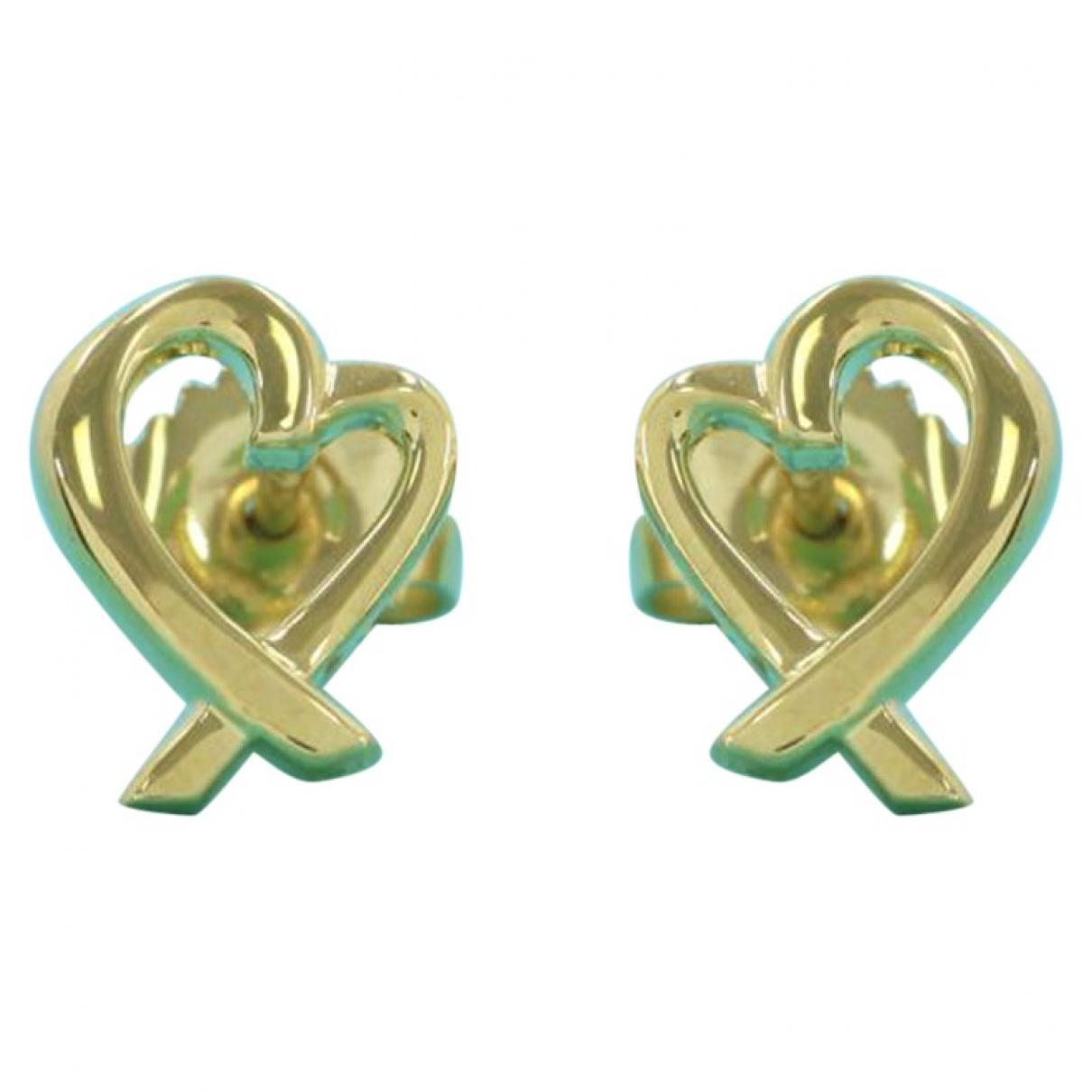 Tiffany & Co - Boucles doreilles Paloma Picasso pour femme en or jaune