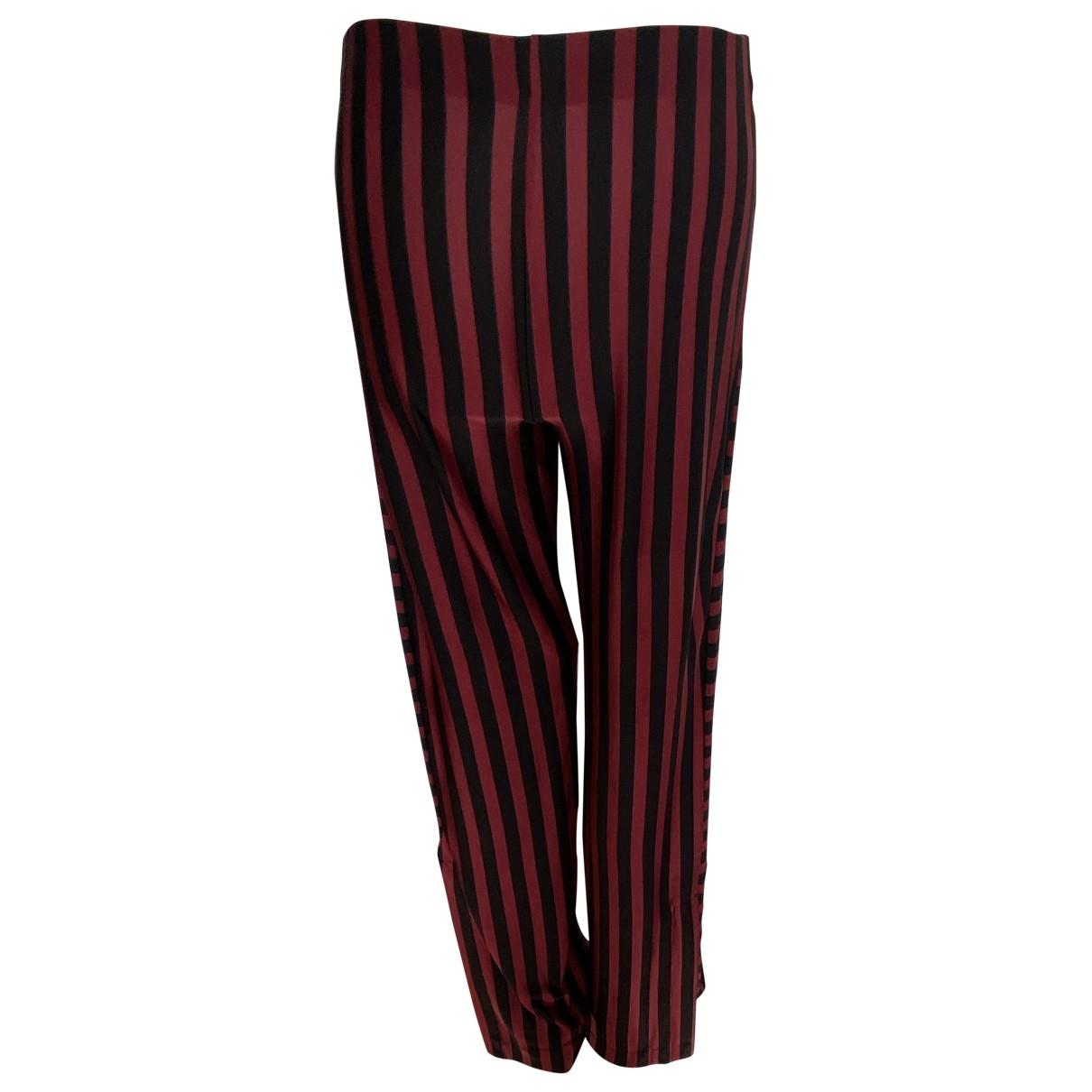 Zara \N Multicolour Trousers for Women S International